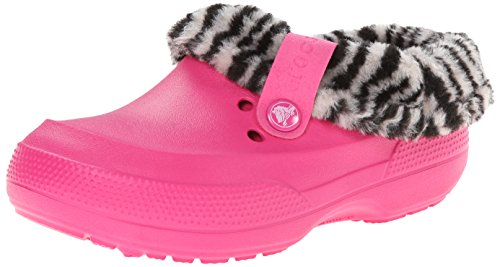 crocs 16014 Blitzen II Animal Prt Clog (Toddler/Little Kid),Candy Pink/Black,8 M US Toddler by Crocs