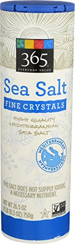 365 Everyday Value, Sea Salt Fine, 26.5 Ounce