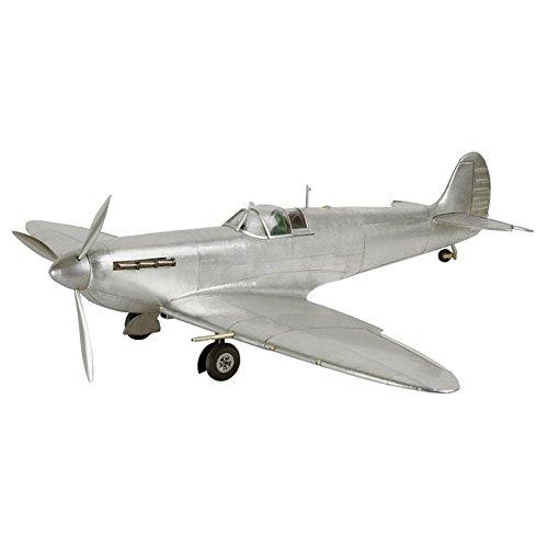 Spitfire Airplane Aluminum Model Desktop Model