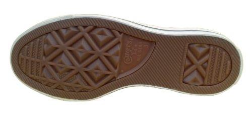 Converse CT PC Side Zip Mid Boots - Zapatillas de cuero para mujer rojo Varsity Red rojo - rojo