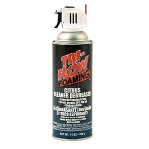 Tri Flow TFF230000 Foaming Citrus Cleaner/Degreaser 14 oz. Aerosol