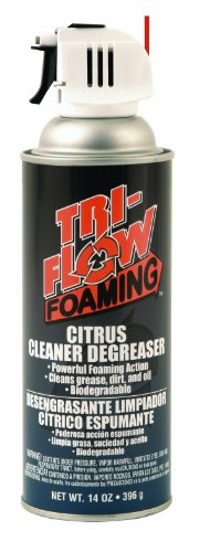Tri Flow TFF230000 Foaming Citrus Cleaner/Degreaser 14 oz. Aerosol