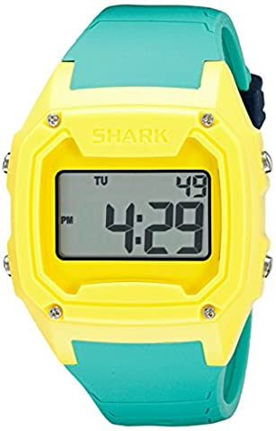 Freestyle Men's 10026584 Shark Classic XL Digital Display Japanese Quartz Green Watch (Freestyle Shark Green Watch)