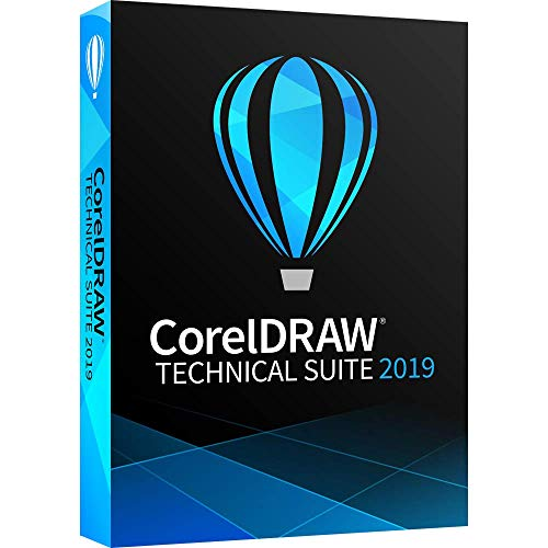 CorelDRAW Technical Suite 2019 – Technical Illustration and Drafting Software [PC Disc][Old Version]