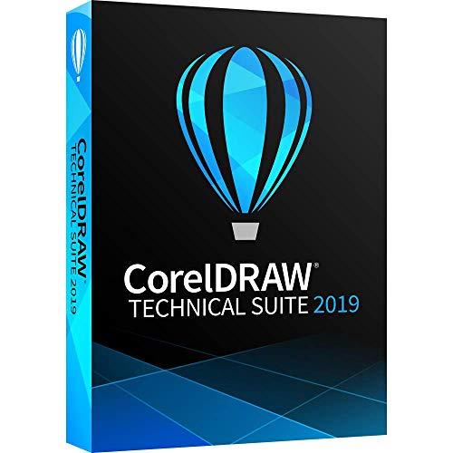 Corel DRAW Technical Suite 2019 voor Windows|Technische Suite|1 apparaat|1 jaar|PC|Disc