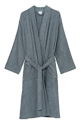TowelSelections Women's Robe Turkish Cotton Terry Kimono Bathrobe Medium/Large Arona