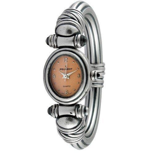 Peugeot Women's Antique Peach Dial Cuff Watch Steko LTD