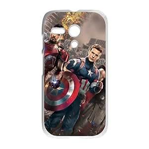 Motorola G Cell Phone Case White Captain America EWT In Depth Phone Case