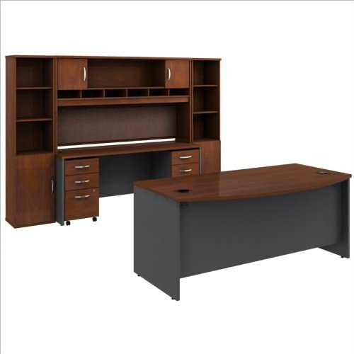 Bush Business Furniture Series C 8-Piece Executive Desk Set