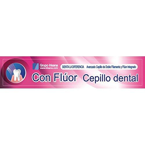 Irisana Cepillo Dental, Flúor Suave - 30 gr: Amazon.es: Salud y cuidado personal