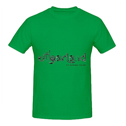 Sugarland The Incredible Machine Electronica Men O Neck Design Shirts Green