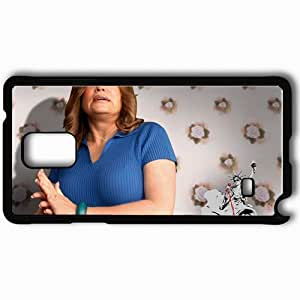 Personalized Samsung Note 4 Cell phone Case/Cover Skin American Dreamz Jennifer Coolidge Martha Kendoo face Movies Black