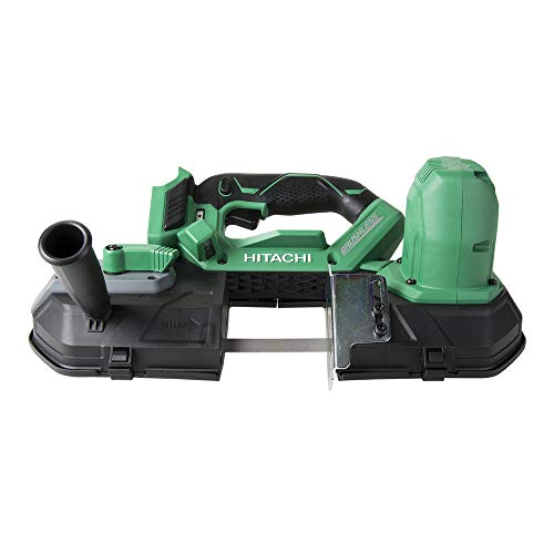 "Hitachi CB18DBLP4 Cordless 18V Lithium Ion Brushless 3-1/4"" Band Saw (Tool Only, No Battery)"