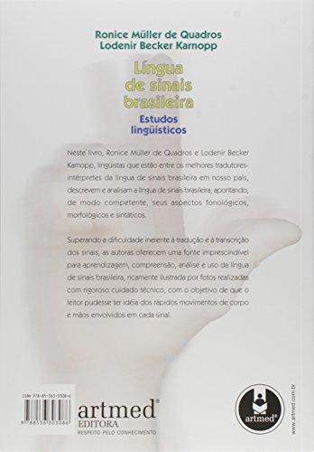 Língua de Sinais Brasileira. Estudos Linguísticos