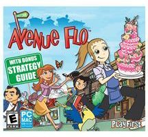 Avenue Flo with Bonus Strategy Guide Jewel Case Avenue Computer