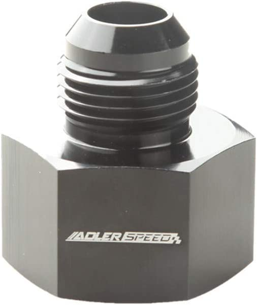 Aluminum Black AN4 Female To AN3 Male Flare Reducer Fuel Fitting