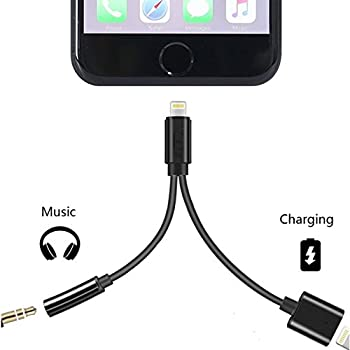 Amazon.com: IPhone 7 Adapter Charge And Headphone FOR IPhone 7 ...