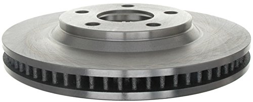 (ACDelco 18A813A Advantage Non-Coated Front Disc Brake Rotor)