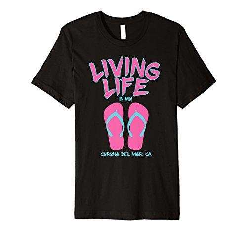 (Living Life In Flip Flops T-Shirt Corona del Mar)