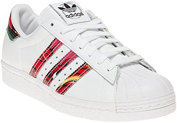 adidas Superstar 80's X Rita Ora Femme Baskets Mode Blanc: Amazon