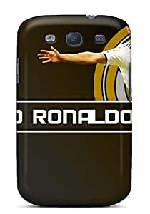 Tpu Case For Galaxy S3 With Cristiano Ronaldo Real Madrid 2013