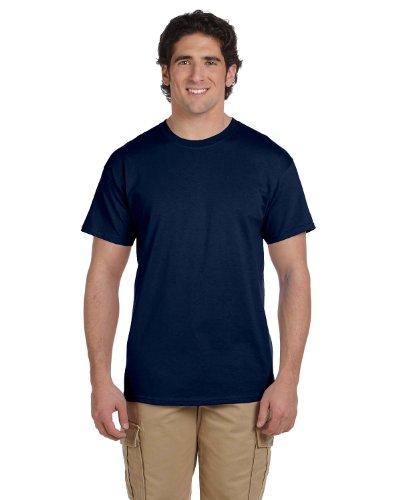 Fruit of the Loom 5 oz, 100% Heavy Cotton HD T-Shirt, 6XL, J Navy