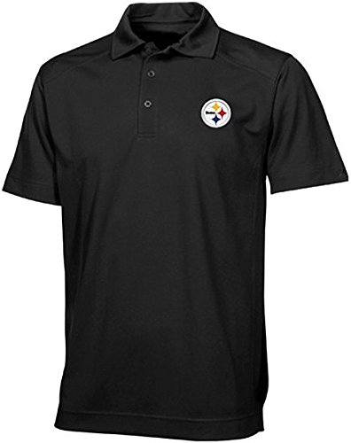 - Majestic Athletic Pittsburgh Steelers Moist Management Birdseye Mens Polo Shirt Big & Tall Sizes (MT)
