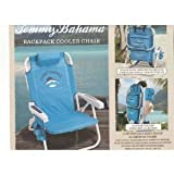 Tommy Bahama Relax Backpack Cooler Chair with Folding Towel Bar and Padded Shoulder Straps - Blue & Mini Tool Box (ml)