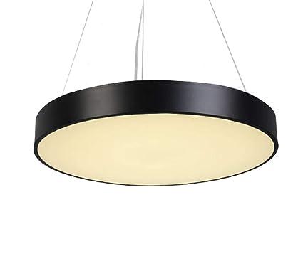 COCOL Lámpara Colgante Redonda de LED, lámpara de Techo ...