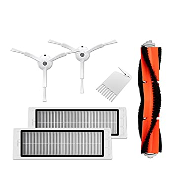 Original XIAOMI Vacuum Cleaner Robo Rock Robot aspirador desgaste piezas Juego de 6 piezas pack de ahorro: Amazon.es: Electrónica