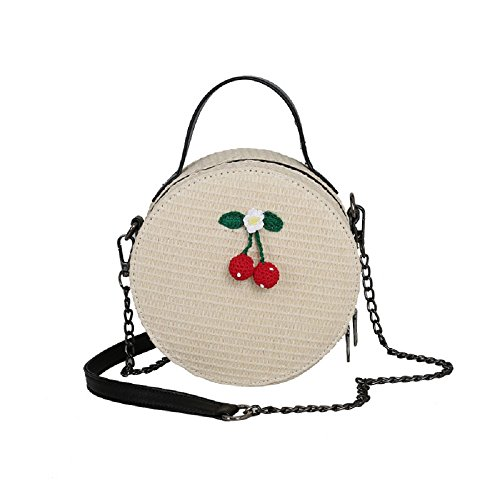 Sac épaule coréenne bandoulière épaule Rond Unique Nouvelle du à Sac ZHRUI Sauvage Blanc Petit Version Mode coréenne Portable vwR8qa