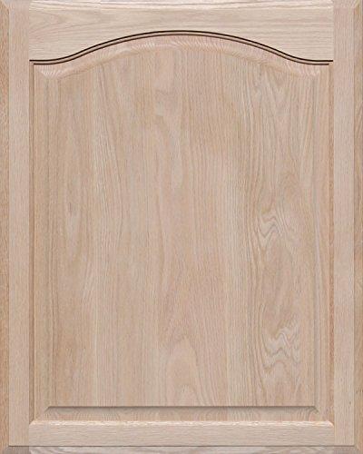 Unfinished Oak Arch Top Cabinet Door by Kendor, 30H x 24W by Kendor
