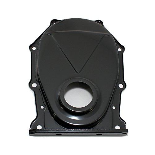 Assault Racing Products A9392PBK Mopar Big Block Black Timing Cover BBM 383 426 440