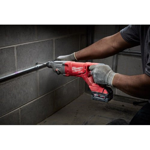 Milwaukee Electric Tool 2713-20 Milwaukee M18 Fuel 18V Lithium-Ion Brushless Cordless SDS Plus D-Handle Rotary Hammer, 1 , Bare Tool, Plastic, 17.63 x 3.85 x 6.61