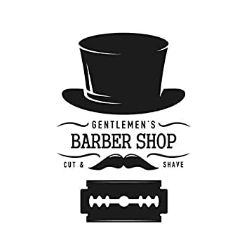 Amazon com: L Man Barber Shop Sticker Customized Chop Bread