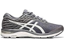 ASICS Men's Gel-Cumulus 21 Running Shoes, 12.5M, Metropolis/White