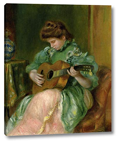 (Woman with a Guitar by Pierre Auguste Renoir - 18