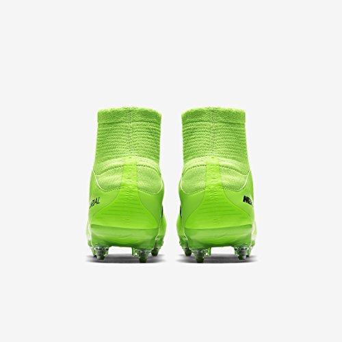 Nike Mercurial Veloce III SG-PRO - botas de fútbol (Soft ground, Adulto, Masculino, Suela con tacos, Verde, Monótono)