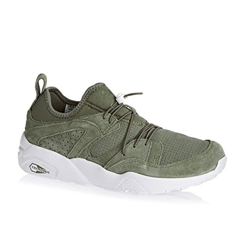Puma BLAZE OF GLORY SOFT Khaki Suede Leather Men Sneakers Shoes Trinomic pay with visa for cheap discount clearance get authentic 0T0mT79