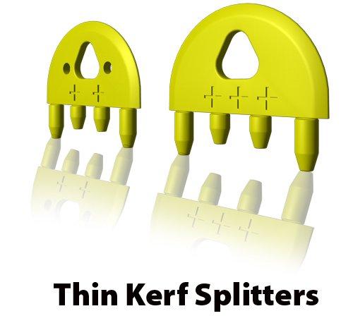 MJ SPLITTER for 332 Kerf Saw Blade with Bonus 2 extra splitter blades
