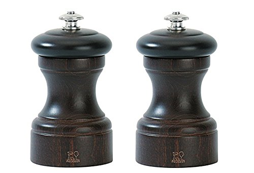 Peugeot Bistro - Peugeot Bistro 4 Inch Salt & Pepper Mill set, Chocolate