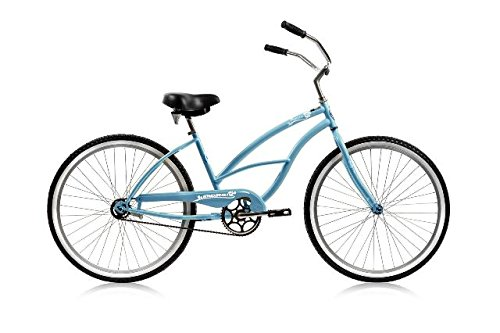 Micargi PANTERA-F-BBL Women's 26'' Beach Cruiser Bicycle Bike, Baby Blue by Micargi