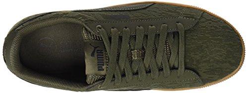 Puma VR Platform Vert Vikky Sneakers Basses Femme Olive OvOAHxqrwW