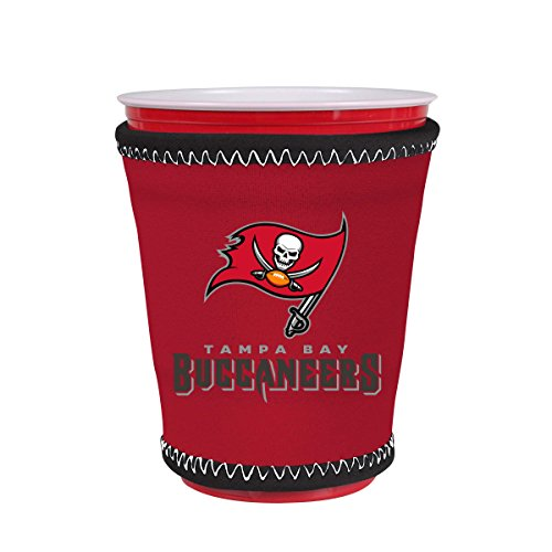 kolder-kup-holder-coolie-for-pint-glasses-solo-cups-coffee-ice-cream-tampa-bay-buccaneers