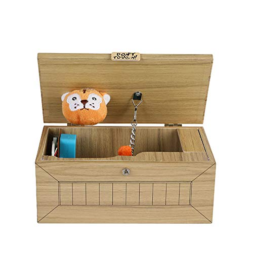 (Tiger Useless Box, Hezong Don't Touch Gag Toys)