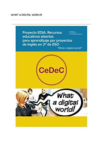 Proyecto EDIA. Recursos educativos abiertos para aprendizaje por proyectos de Inglés en 2º de ESO.