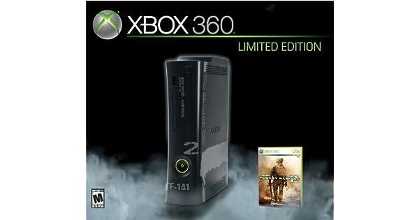 Amazon com: Xbox 360 Modern Warfare 2 Limited Edition Console: Video