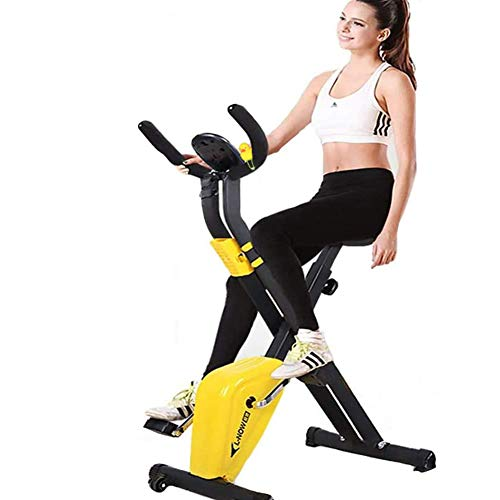 NOBUNO Indoor cycling bikes mini exercise bike spinning bike Foldable Domestic gym machine fitness equipment Sports…