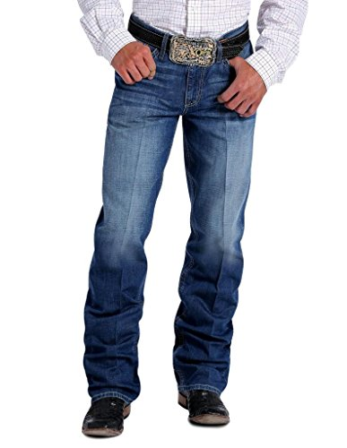 Cinch Men's Grant Relaxed Fit Jean, Medium Blue Stonewash, 33 x 36 (Cinch Mens)