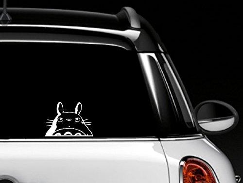Totoro Head Car Window Decal